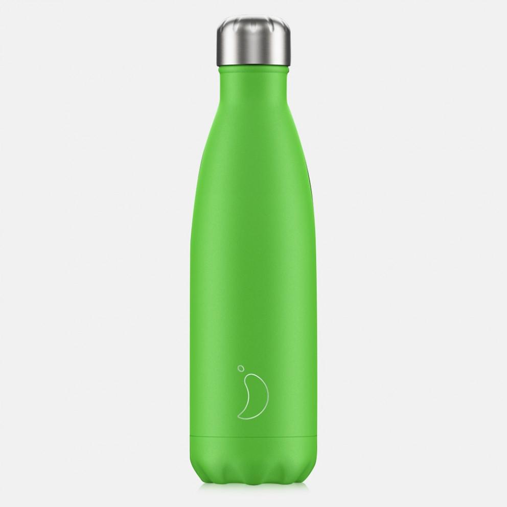 Chilly's Bottles Neon Green 500 Ml