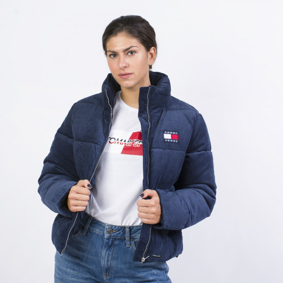 Tommy Jeans CORD PUFFA JACKET