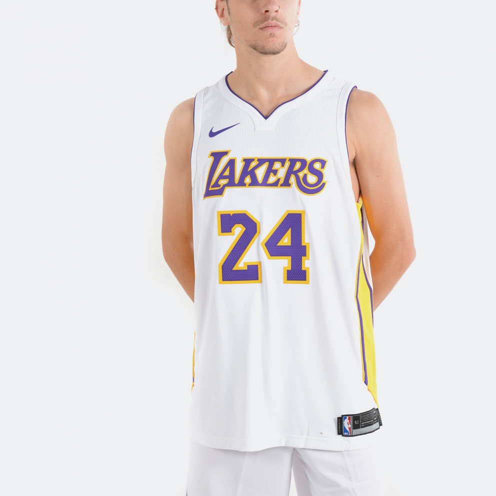 Nike Nba Los Angeles Lakers Association Edition Authentic Jersey (Kobe Bryant)
