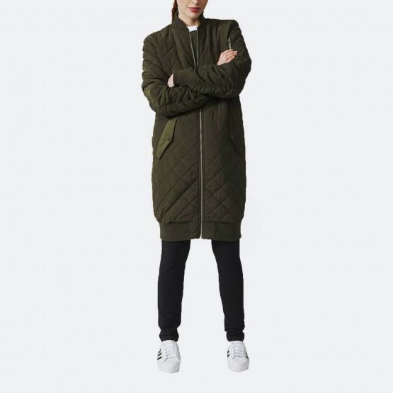adidas Originals Long Quilted Bomber Jacket