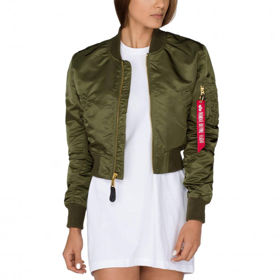 Alpha Industries MA-1 PM Cropped Wmn