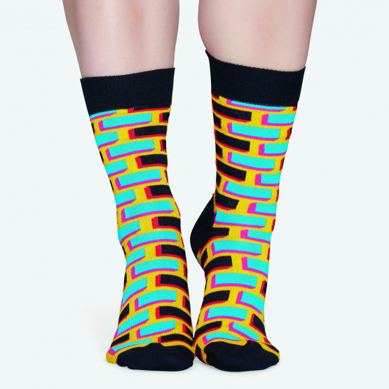 Happy Socks Brick Sock - Unisex Κάλτσες