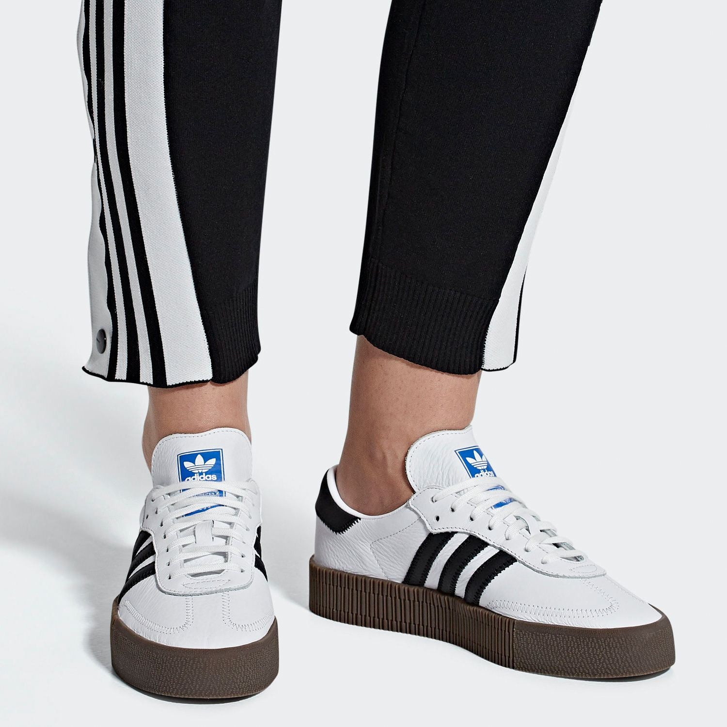 adidas Originals Sambarose Platform Shoes (9000012323_33914) shoes & style