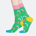 Happy Socks Candy Cane - Unisex Κάλτσες