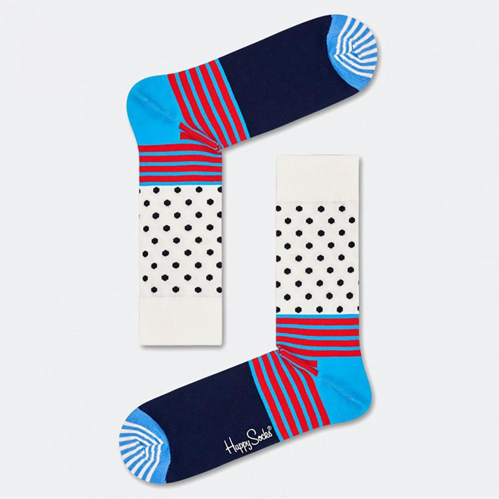 Happy Socks Stripes & Dots Unisex Socks - Unisex Κάλτσες