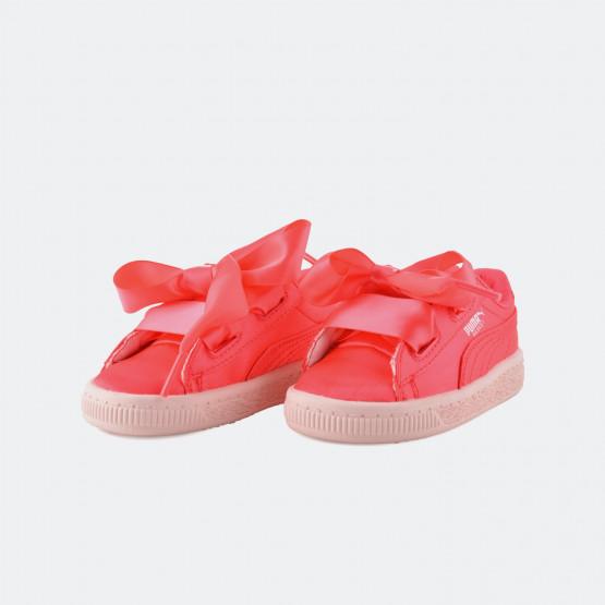 Puma Basket Heart Βρεφικά Παπούτσια