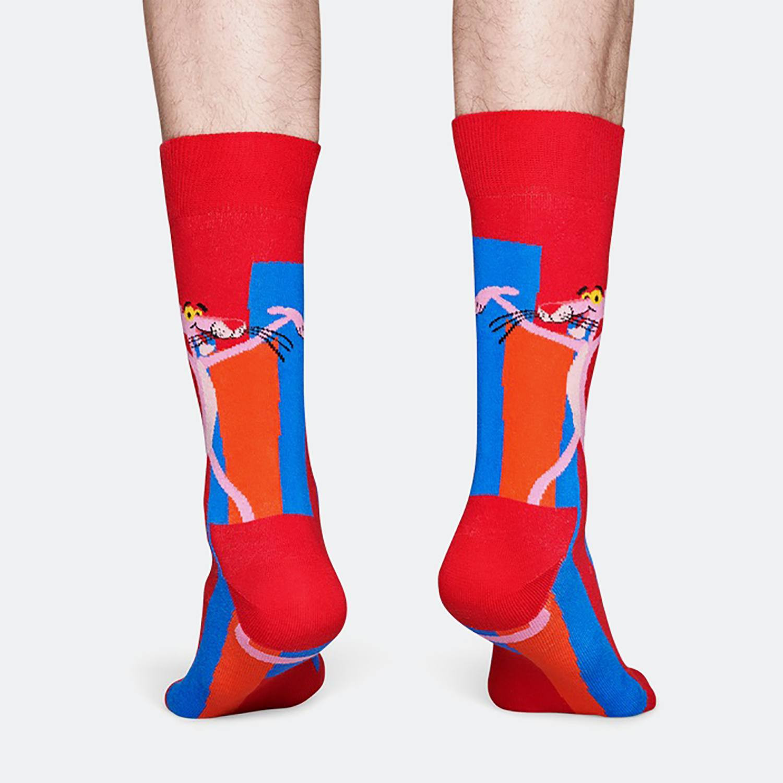 Happy Socks Pink Panther Socks: Smile Pretty, Say Pink