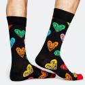 Happy Socks Keith Haring Heart - Unisex Κάλτσες