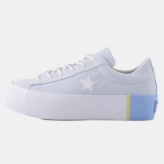 Converse One Star Platform Tri Block Low Top | Women's Sneakers