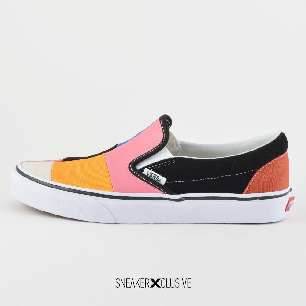 Vans Patchwork Classic Slip-On - Γυναικεία Sneakers (9000026841_38164)
