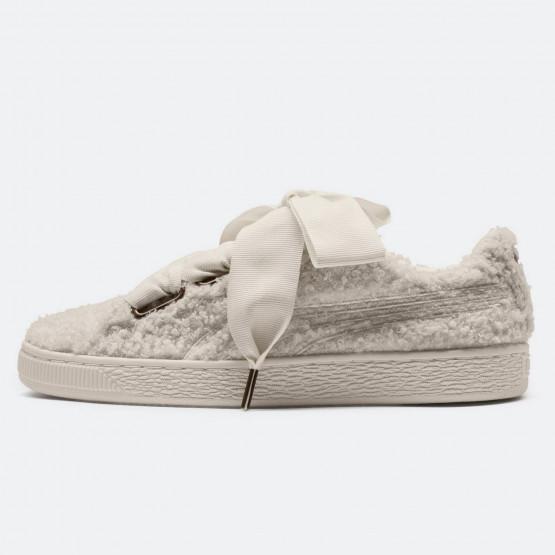 Puma Basket Heart Teddy Women's Sneakers