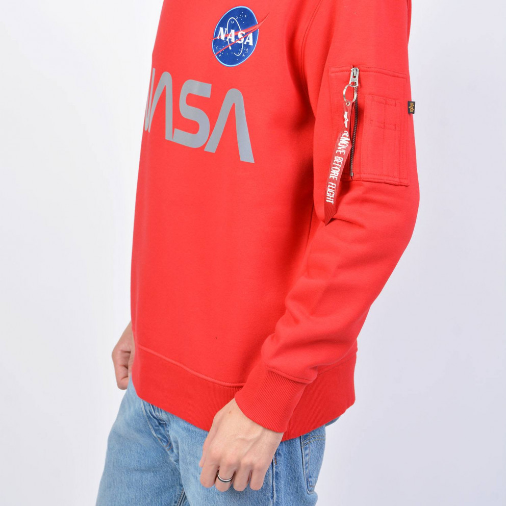 Alpha Industries Nasa Reflective Sweater