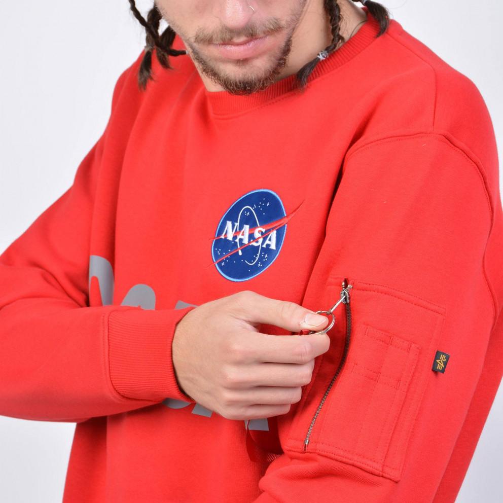Alpha Industries Nasa Reflective Men's Sweatershirt