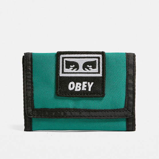 Obey TAKEOVER TRI FOLD WALLET