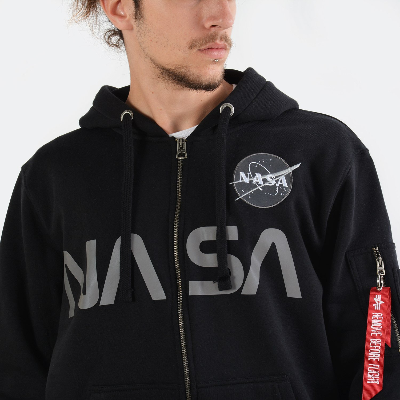 Alpha Industries NASA Zip Hoody
