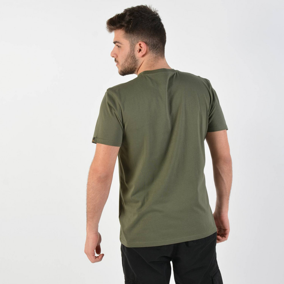 Alpha Industries Men'S Basic Small Logo T-Shirt