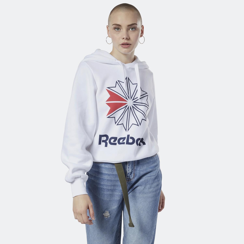 Reebok Classics Big Logo Hoodie - Γυναικείο Hoodie (9000032936_1539)