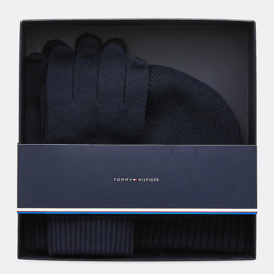 Tommy Jeans PIMA COTTON BEANIE & GLOVES GP
