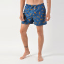 Shiwi men swim short leopard