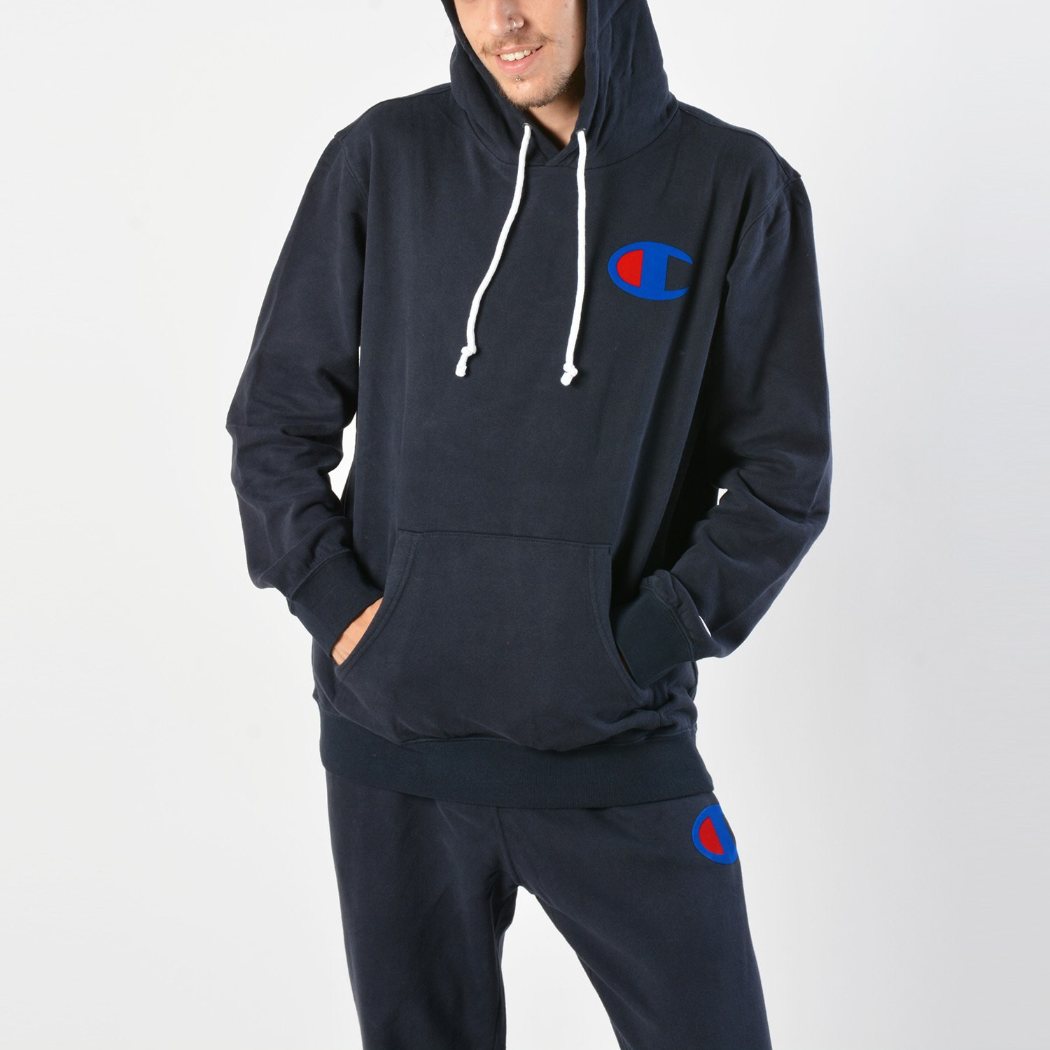 Champion Rochester Men's Hooded Sweatshirt