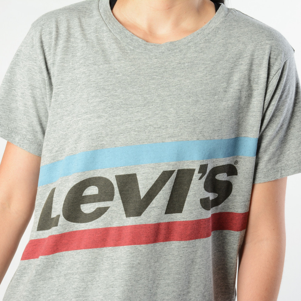 Levis Graphic Boyfriend Tee New Logo Cloud | Γυναικείο T-shirt