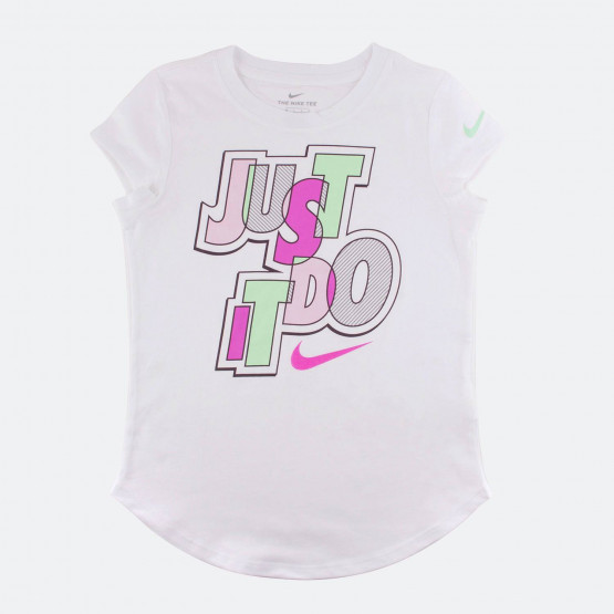 Jordan JUMBLE JUST DO IT SCOOP SS TEE