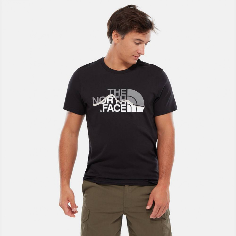 THE NORTH FACE Mountain Line - Ανδρικό T-Shirt