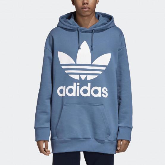 adidas Originals Oversize Trefoil Hoodie - Μπλούζα Με Κουκούλα