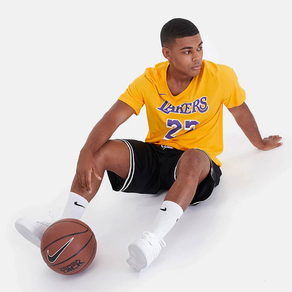 Nike Lebron James Los Angeles Lakers Dri-Fit T-Shirt