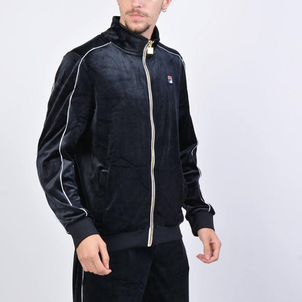 Fila Men's Lineker Velour Track Jacket