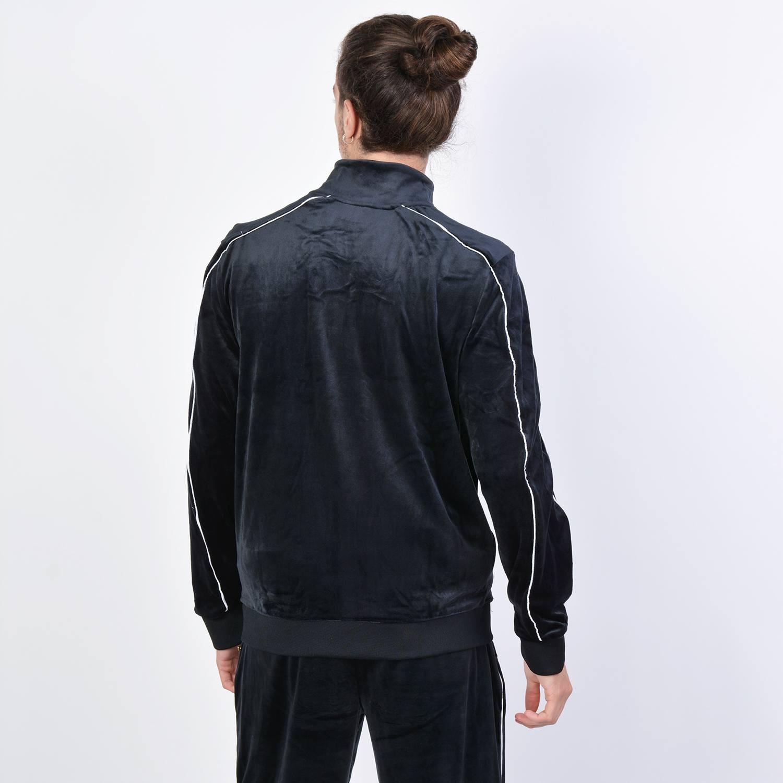 Fila Men's Lineker Velour Track Jacket - Ανδρική Ζακέτα