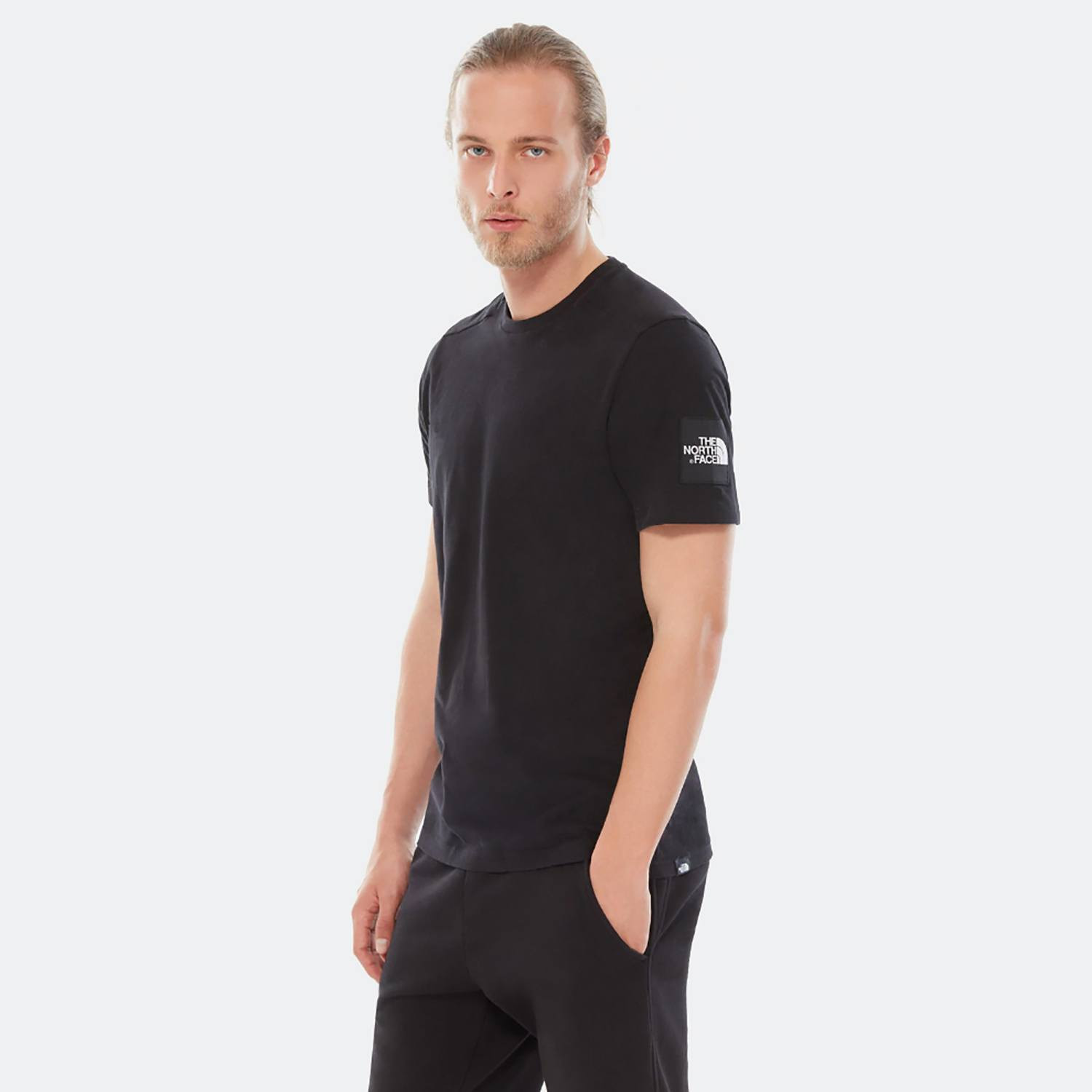 THE NORTH FACE M S/S FINE 2 TEE (9000036750_4617)