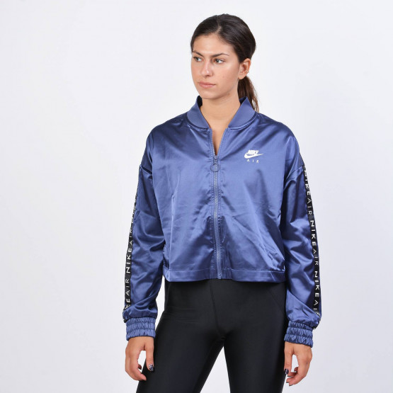 Nike Air Women's Satin Track Jacket - Γυναικεία Ζακέτα