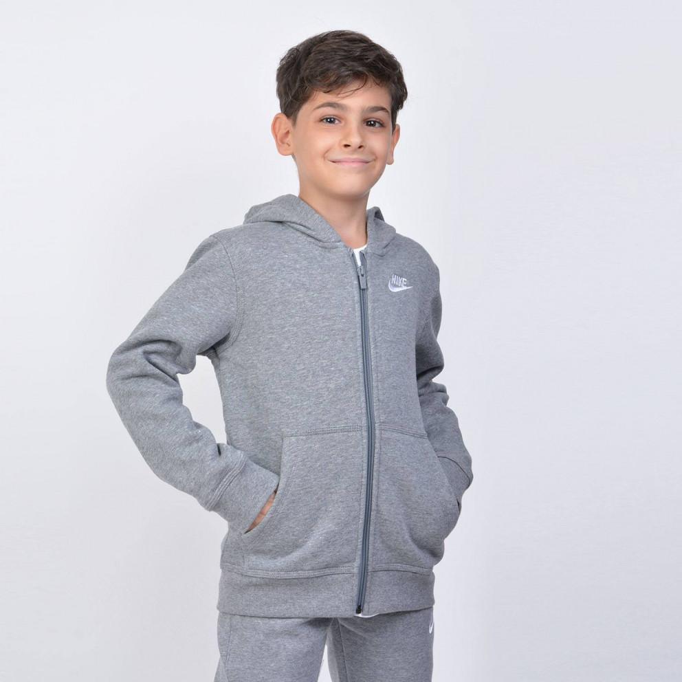 Nike Παιδική Ζακέτα με Κουκούλα