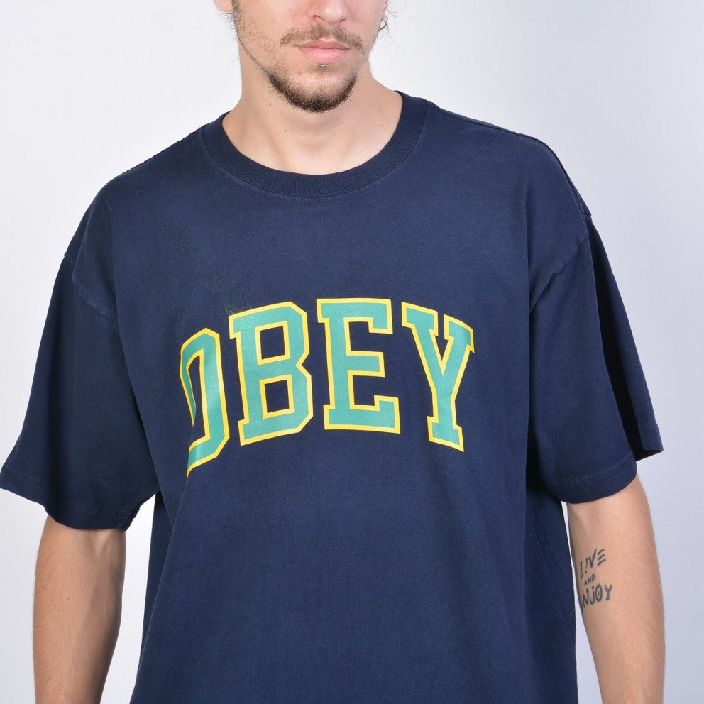 Obey Academic Heavy Weight Classic Box T-Shirt