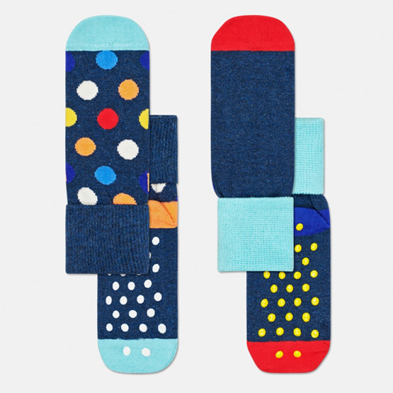 Happy Socks 2-Pack Big Dot Anti-Slip Socks