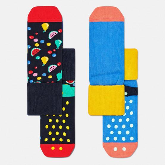 Happy Socks 2-Pack Fruit Salad Anti-Slip Socks