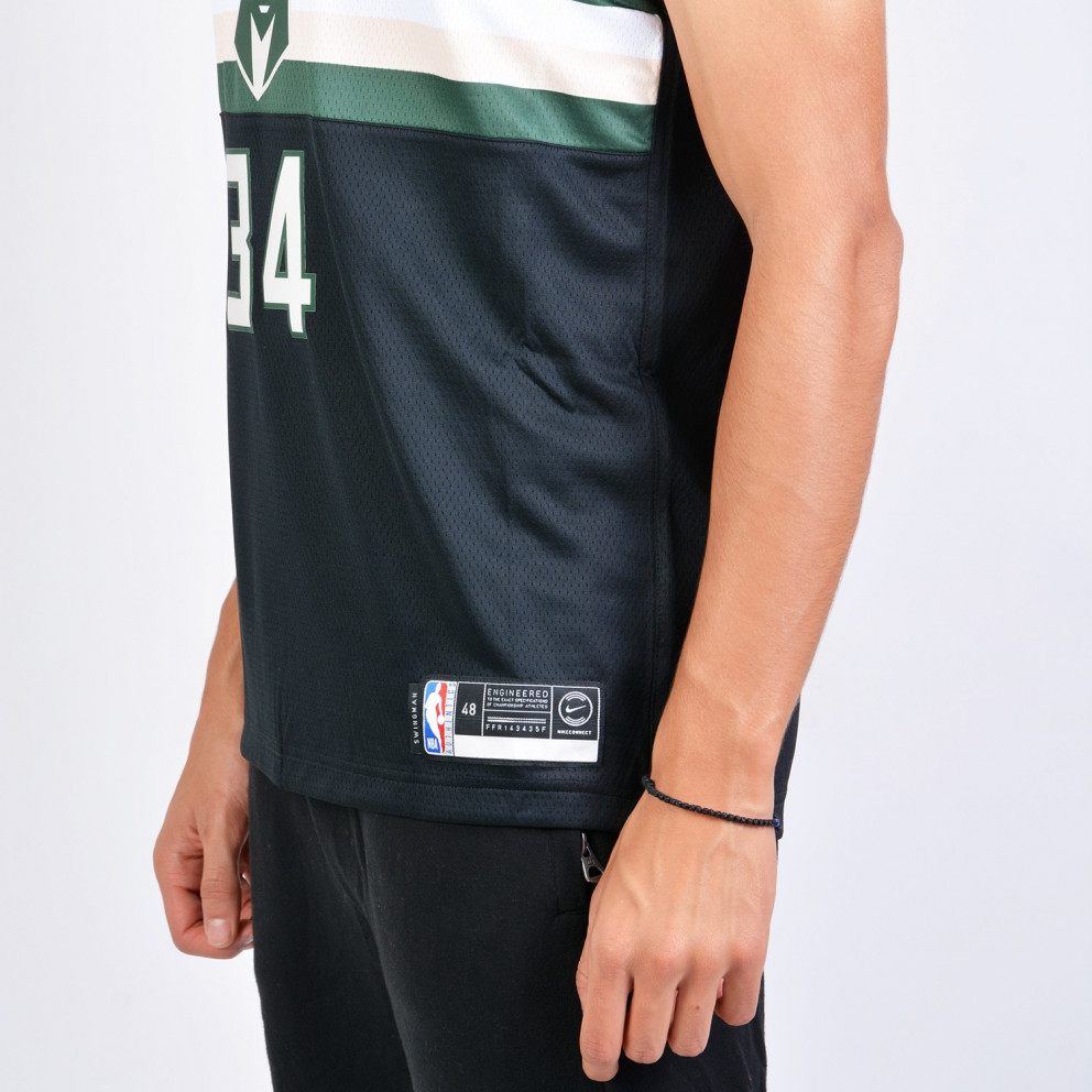 Nike NBA Giannis Antetokounmpo Milwaukee Bucks Statement Edition Swingman Men's Jersey