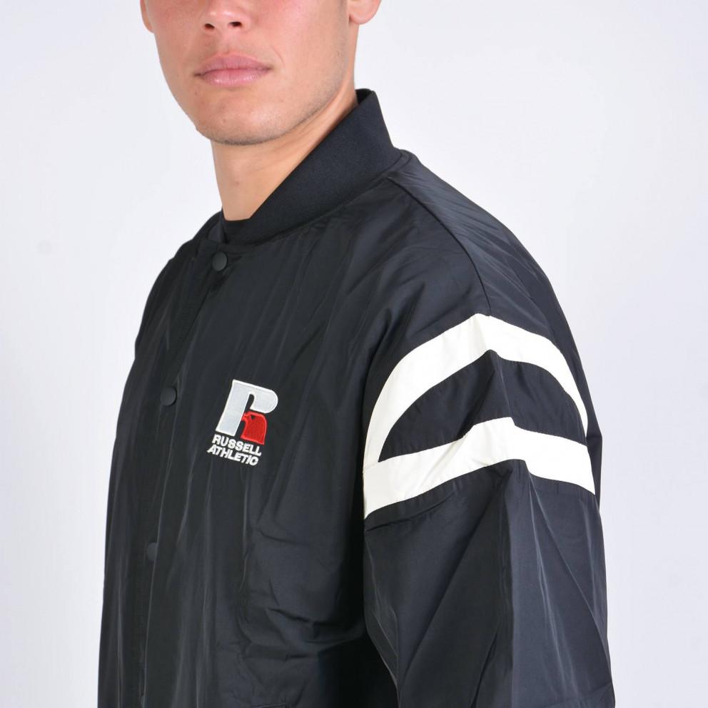 Russel Athletic Duke Oversized Bomber Jacket