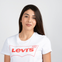 Levis THE PERFECT TEE BW OUTLINE T2 WHITE+ GR