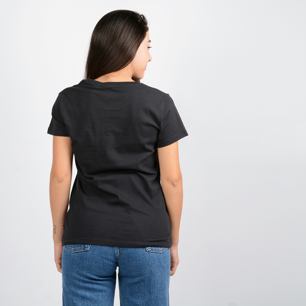Levis THE PERFECT TEE 90S SERIF T2 CAVIAR GR