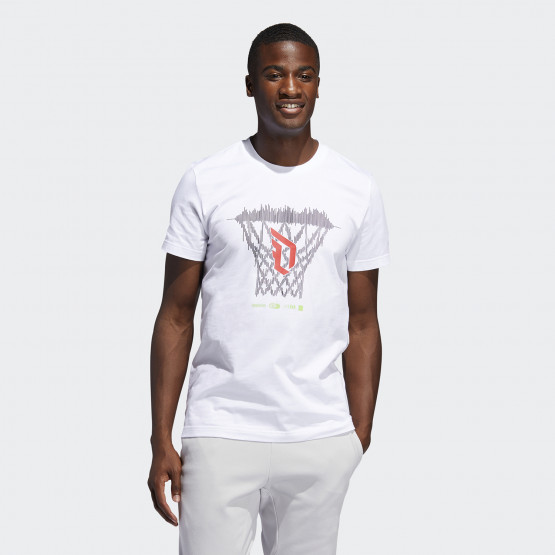 adidas Performance Dame Logo Men's Tee