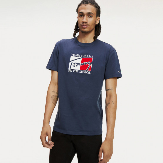 Tommy Jeans Flag Script Men's Tee