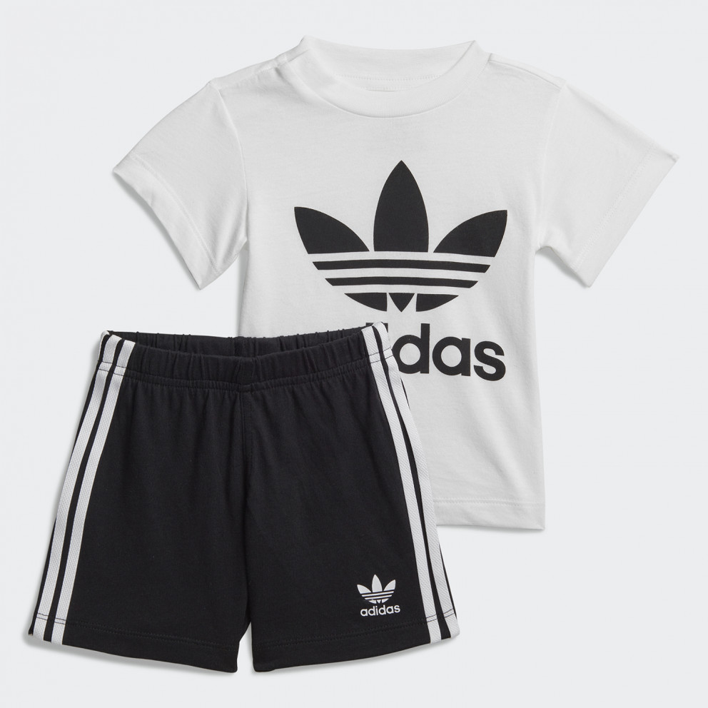 adidas Originals Treefoil Shorts Tee Infants' Set