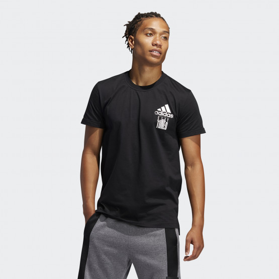 adidas Performance Stay Tuned Men's Tee