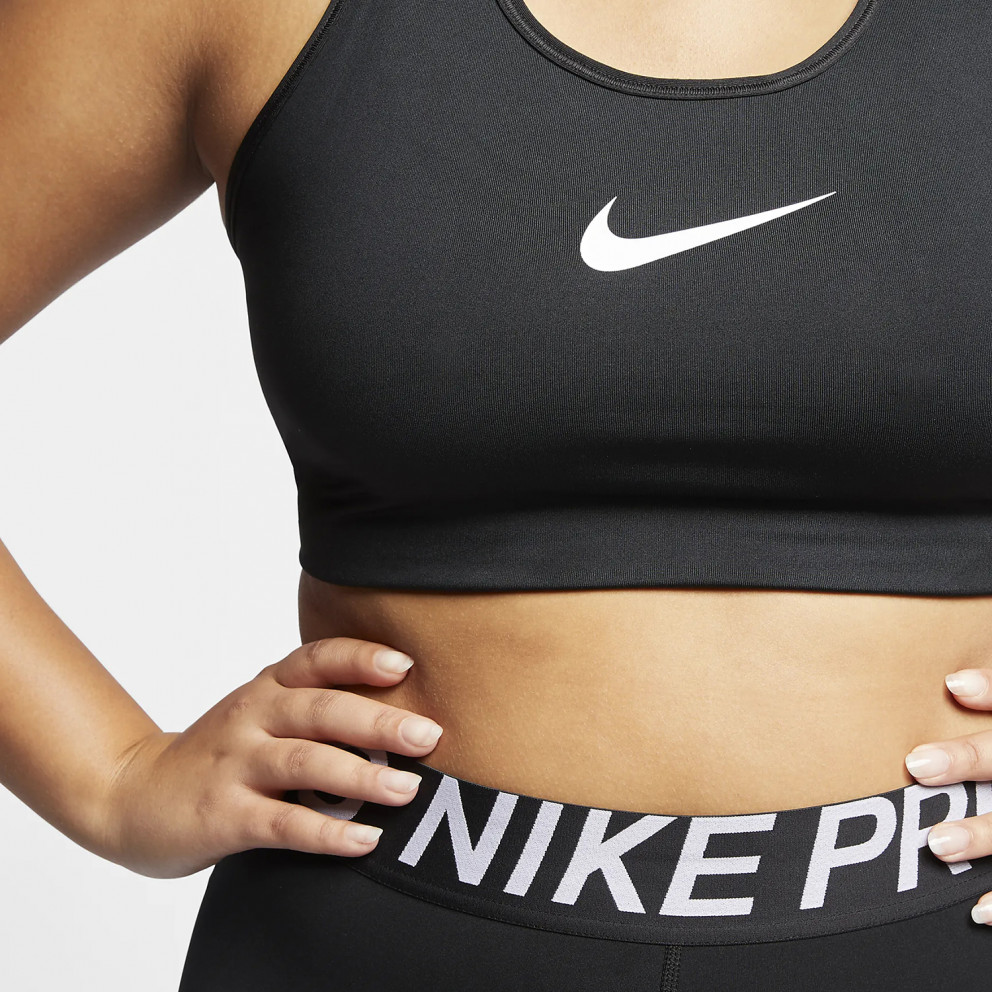 Nike Swoosh Plus Size Αθλητικό Γυναικείο Μπουστάκι