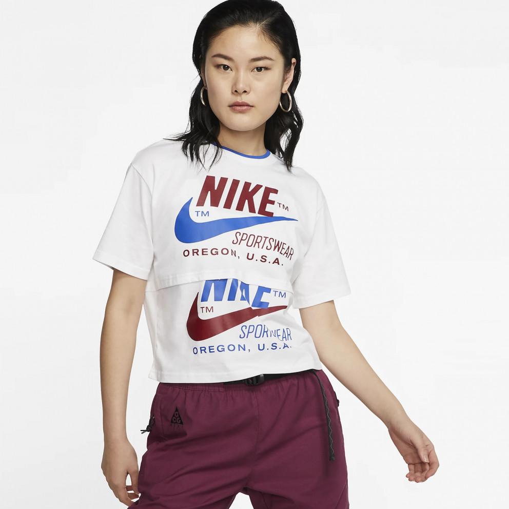 Nike Sportswear Icon Clash Women's Short-SLeeve Top