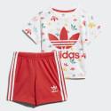 adidas Originals Shorts And Tee Infants' Set