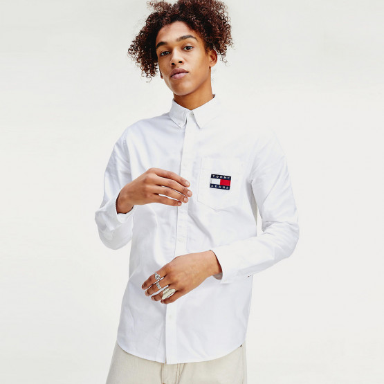 Tommy Jeans Oxford Badge Shirt
