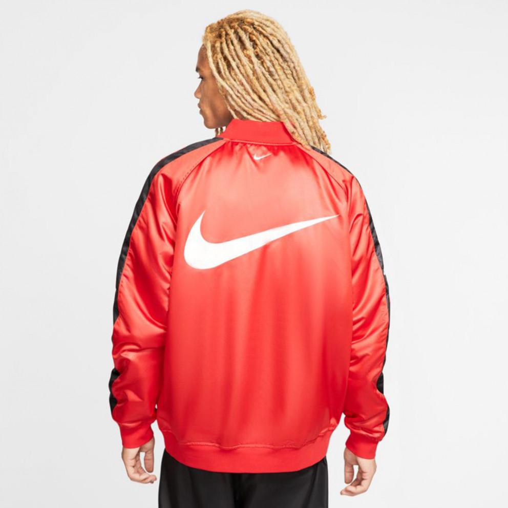 Nike Sportswear Swoosh Bomber Woven Reversible Men'S Jacket